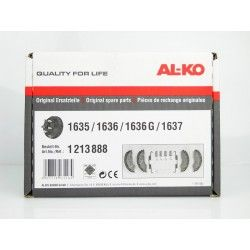 KIT COMPLETO JUEGO ZAPATAS ALKO-D 160 MM